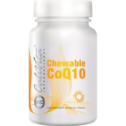 Chewable Co Q10 Orange Flavour (60 capsule gelatinoase masticabile)